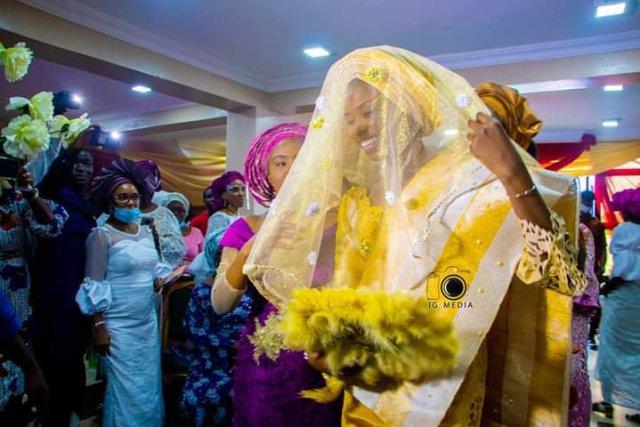 Darasimi Mike Bamiloye and Lawrence Oyor traditional wedding