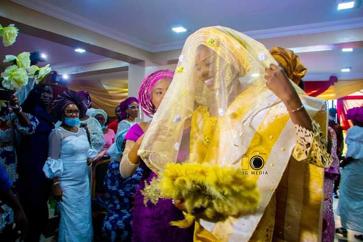 Darasimi Mike Bamiloye and Lawrence Oyor traditional wedding