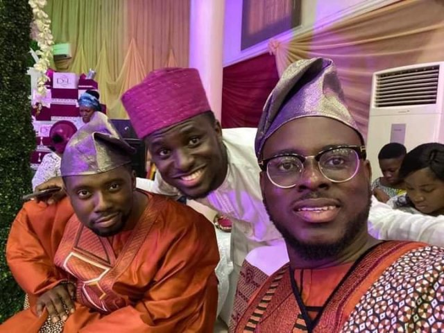 Joshua Mike Bamiloye and Damilola Mike-Bamiloye at Lawrence Oyor traditional wedding