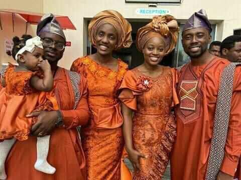 Emmanuella and Tolulope Mike Bamiloye at Darasimi wedding