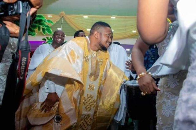 Dance steps of Lawrence Oyor at his engagement ceremony