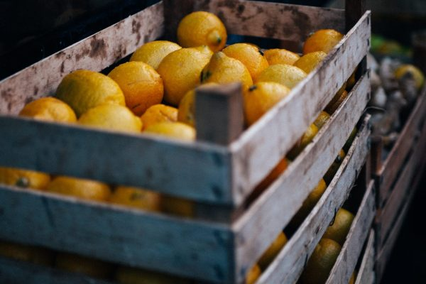 oranges crate