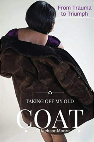 Taking off my old coat