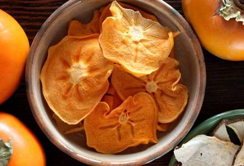 Сушенные плоды хурмы