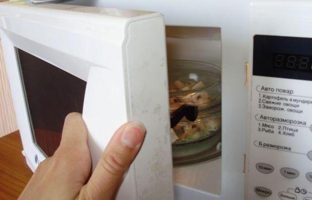 Сушка опят в микроволновке
