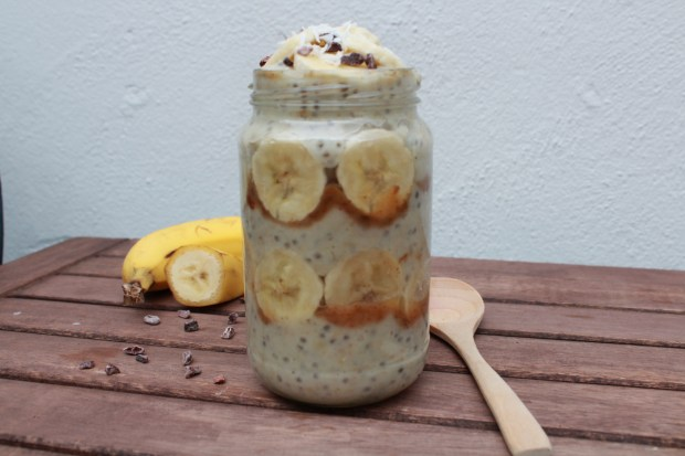 banoffee pie oats 4
