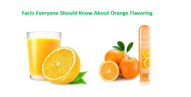 Facts Everyone Should Know About Orange Flavoring