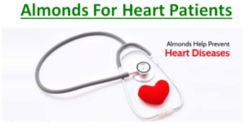 Almonds For Heart Patients