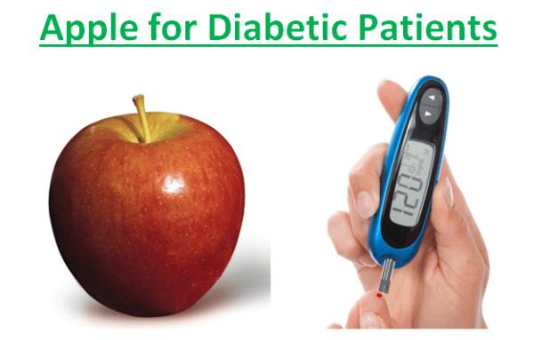 Apple for Diabetic Patients