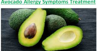 Avocado Allergy Symptoms Treatment