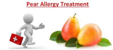 Pear Allergy Treatment