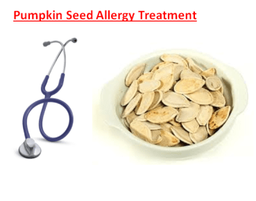 Pumpkin Seed Allergy Treatment