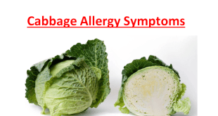 Cabbage Allergy Symptoms
