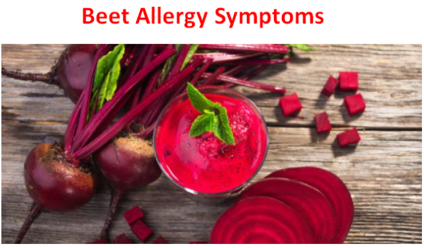 Beet Allergy Symptoms