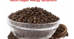 Black Pepper Allergy Symptoms