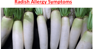 Radish Allergy Symptoms