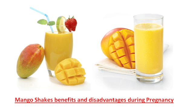 Mango Shakes benefits and disadvantages during Pregnancy