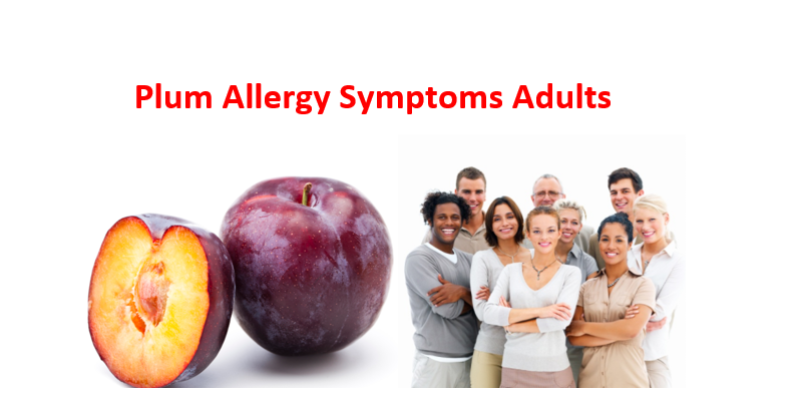 Plum Allergy Symptoms Adults