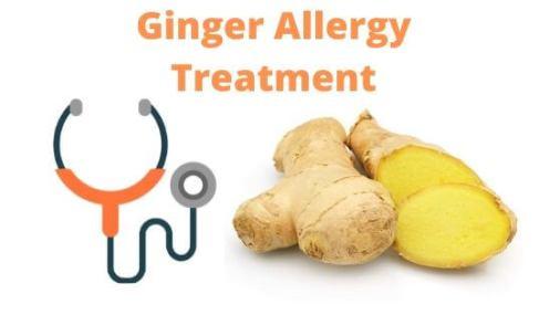 Ginger Allergy Treatment