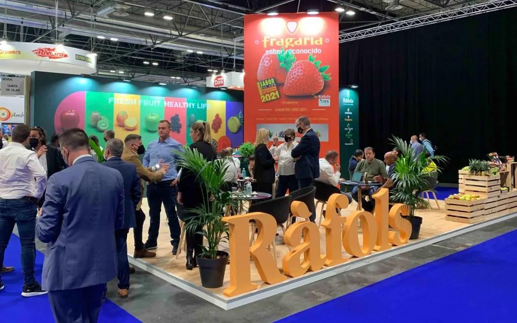 Fruits Ràfols en feria Fruit Attraction 2021