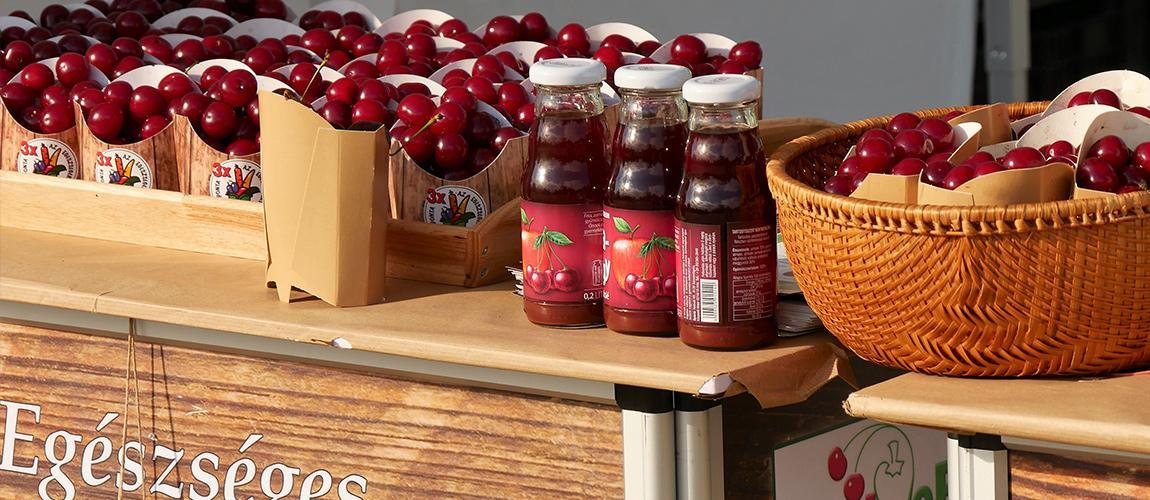 Sikerrel zárult a FruitVeb meggyfogyasztást népszerűsítő kampánya a BudaPart–Kopaszi Gáton