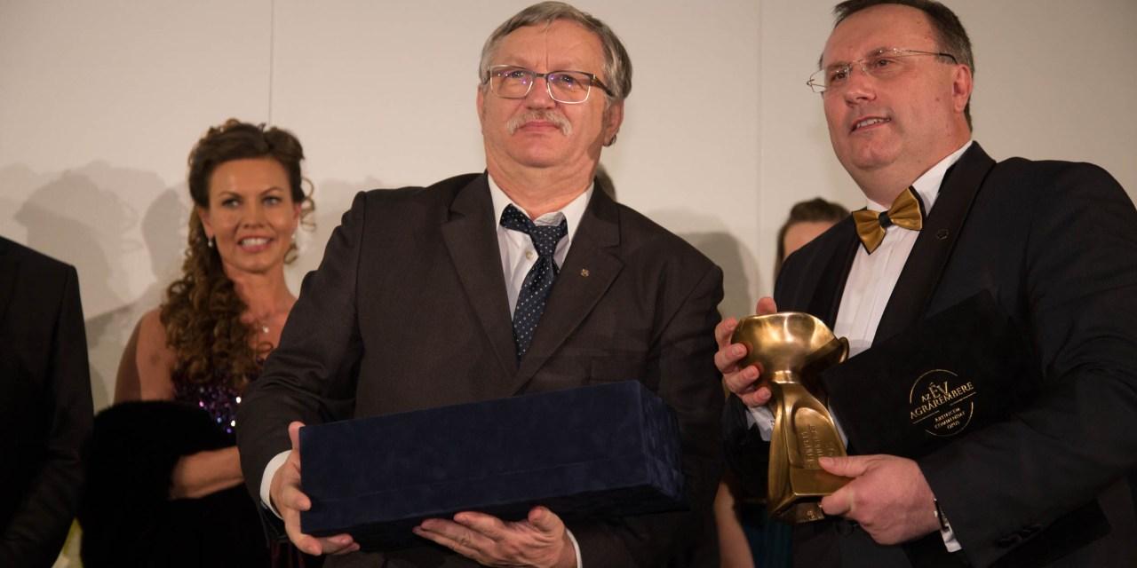 2018-ban Az Év Agrárembere kitüntető díj győztese: Ledó Ferenc, a FruitVeB elnöke