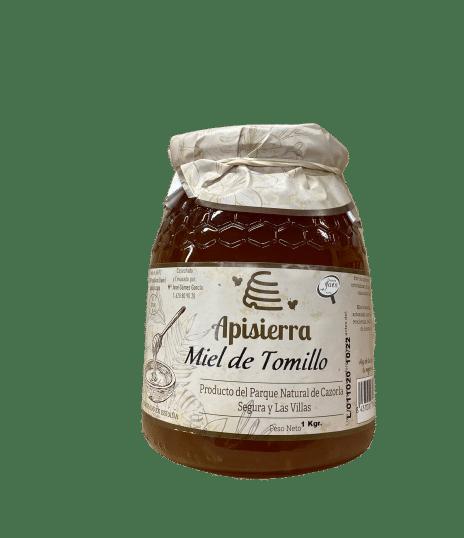 MIEL TOMILLO 1K APISIERRA