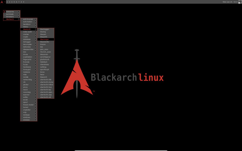 Hasil gambar untuk image blackarch os