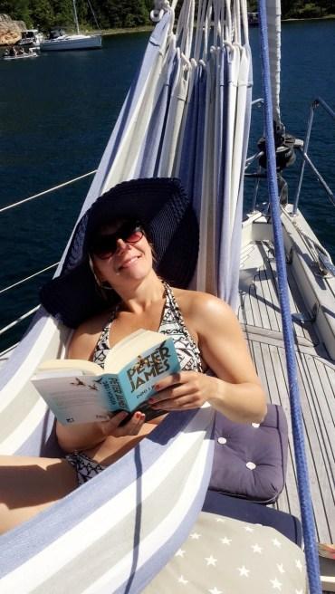 Lady at sea