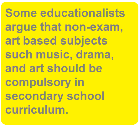 art based subject compulsory education ielts