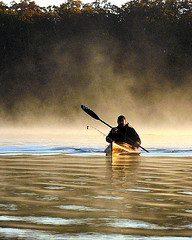 Kayak Fishing at Okmulgee Lake