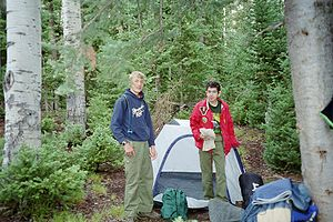 Varsity Scouts of the Boy Scouts of America sh...