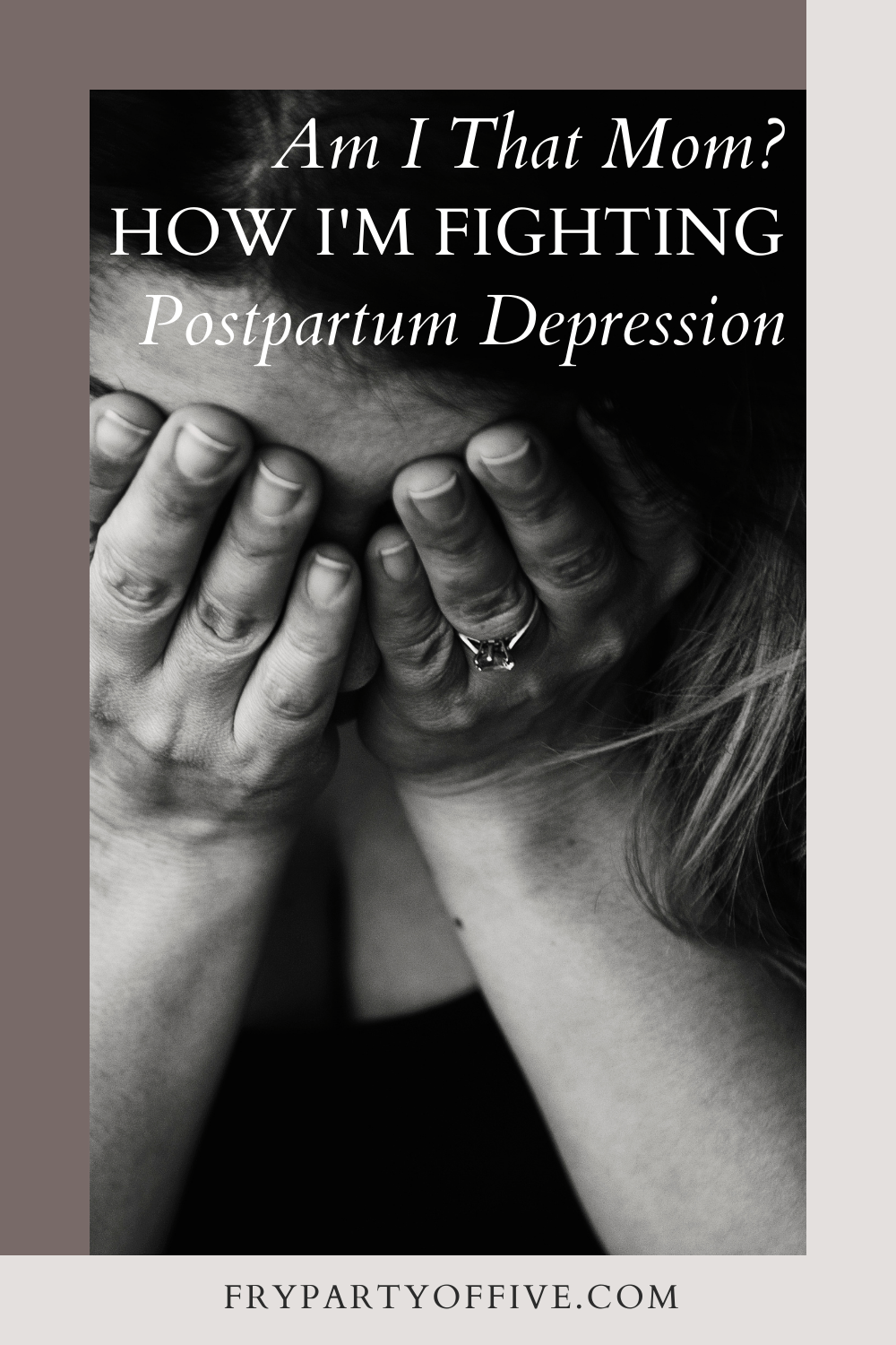 The Powerful Way I Am Fighting Postpartum Depression So That You Can Too
