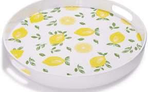Martha Stewart Collection Citrus Melamine Serving Tray