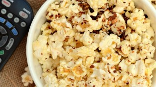 Spicy PepperJack Cheese Popcorn