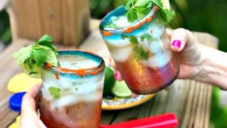 The Perfect Cilantro-Lime Micheladas