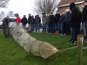 Sportacademie bij Fryske Fisker Eppie Visser