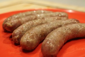 AirFryer Sausages
