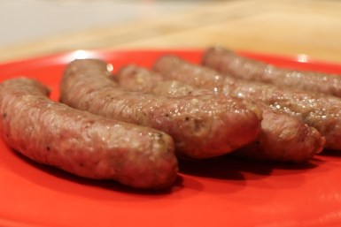 Oil Less Fryer Sausages