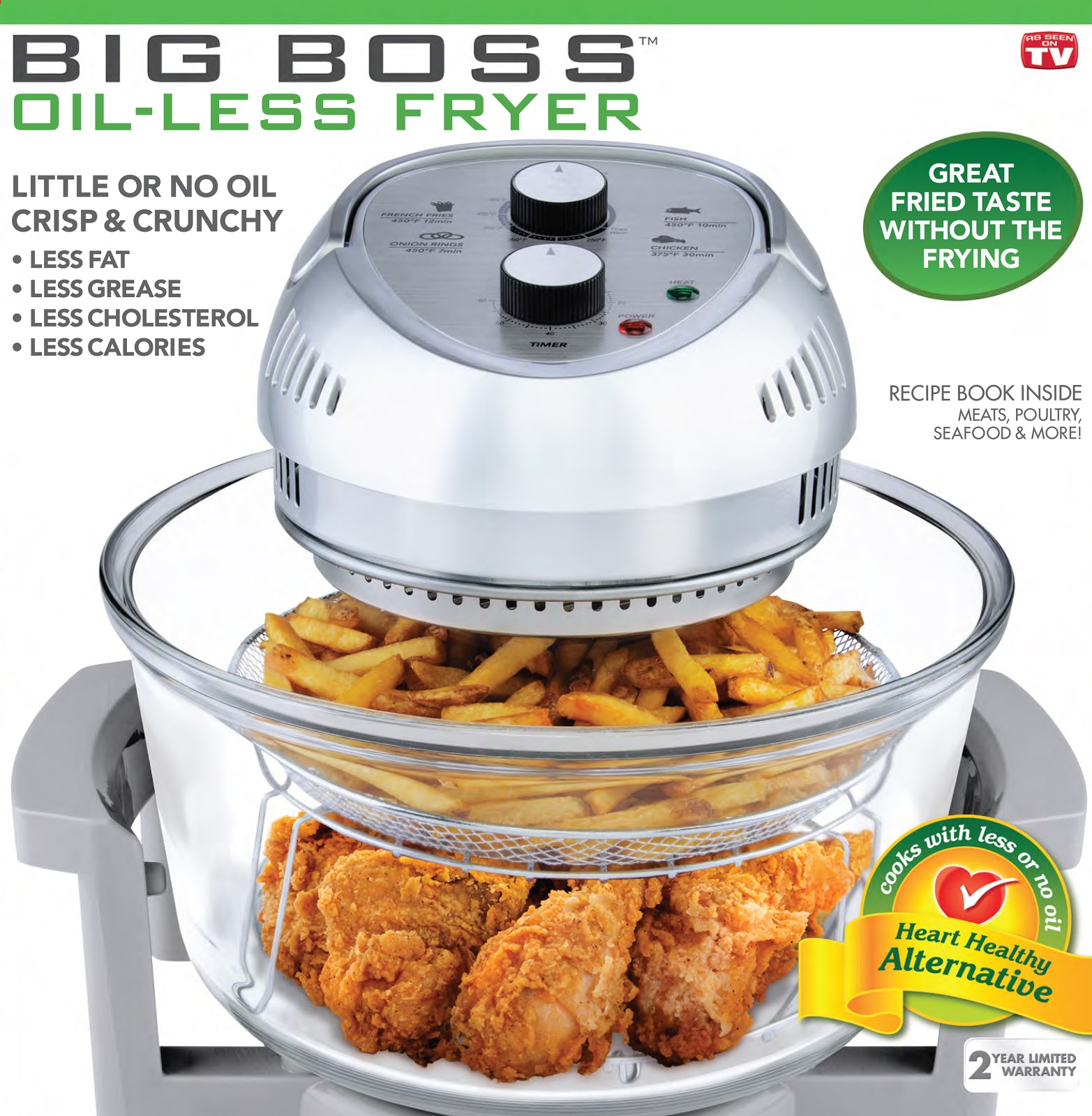 Big boss oil less fryer manual fry the world forumfinder Gallery