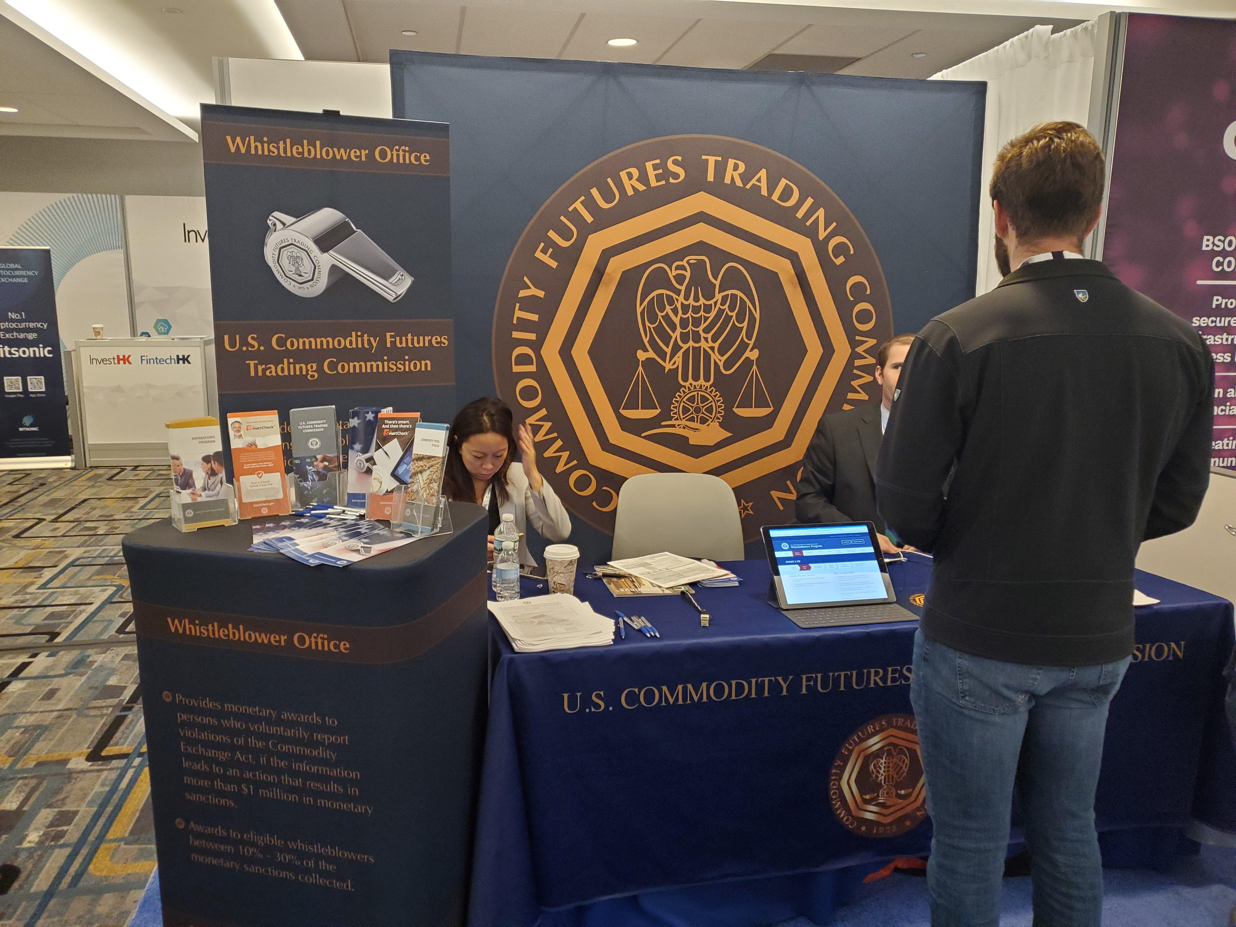 CFTC Booth at Consensus 2019