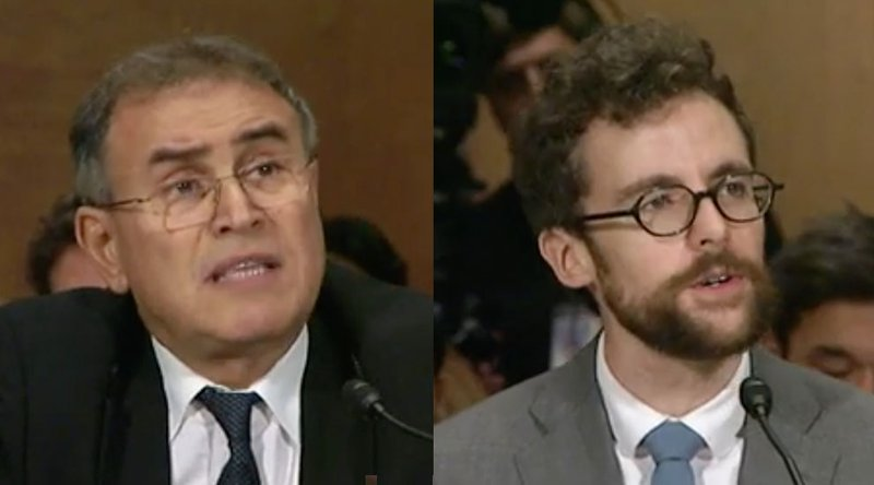 Roubini Faces Off With Coin Center's Van Valkenburgh at Senate Hearing