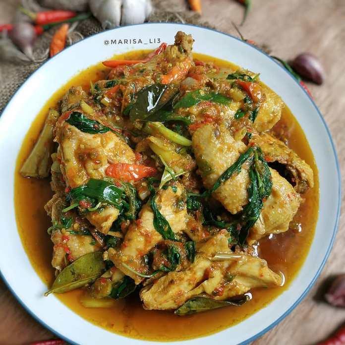 Resep Ayam Rica Rica Pedas Kemangi Bikin Tubuh Hangat G