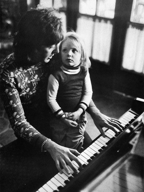 Paul McCartney mit Tochter Stella