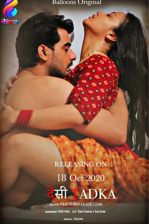 18+ Desi Tadka 2020 S01E02 Hindi Balloons Original Web Series 720p HDRip 200MB Download