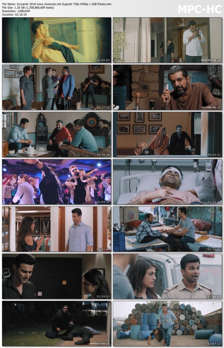 Download Suryansh 2018 Gujarati 720p HDRip ESubs 1.2GB