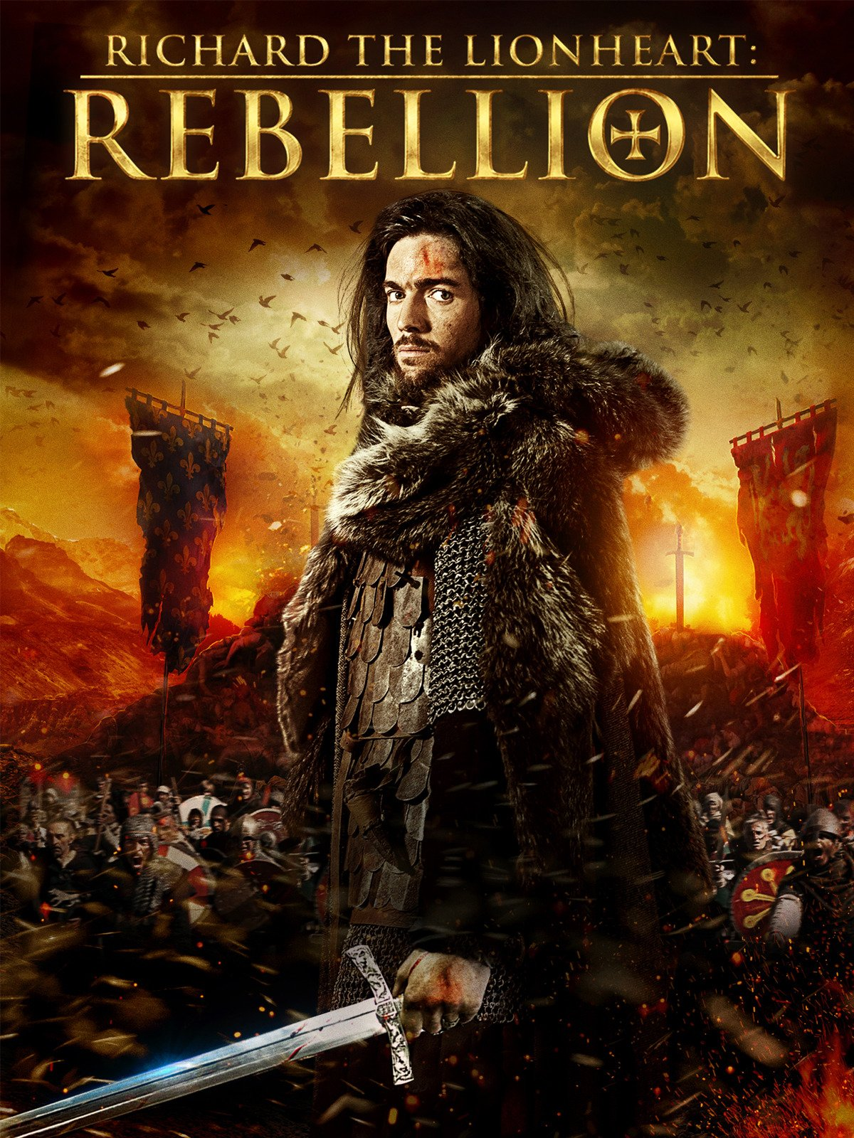 Richard The Lionheart Rebellion 2015 Hindi Dual Audio  480p |720p BluRay  x264 AAC 335MB | 800MB Download