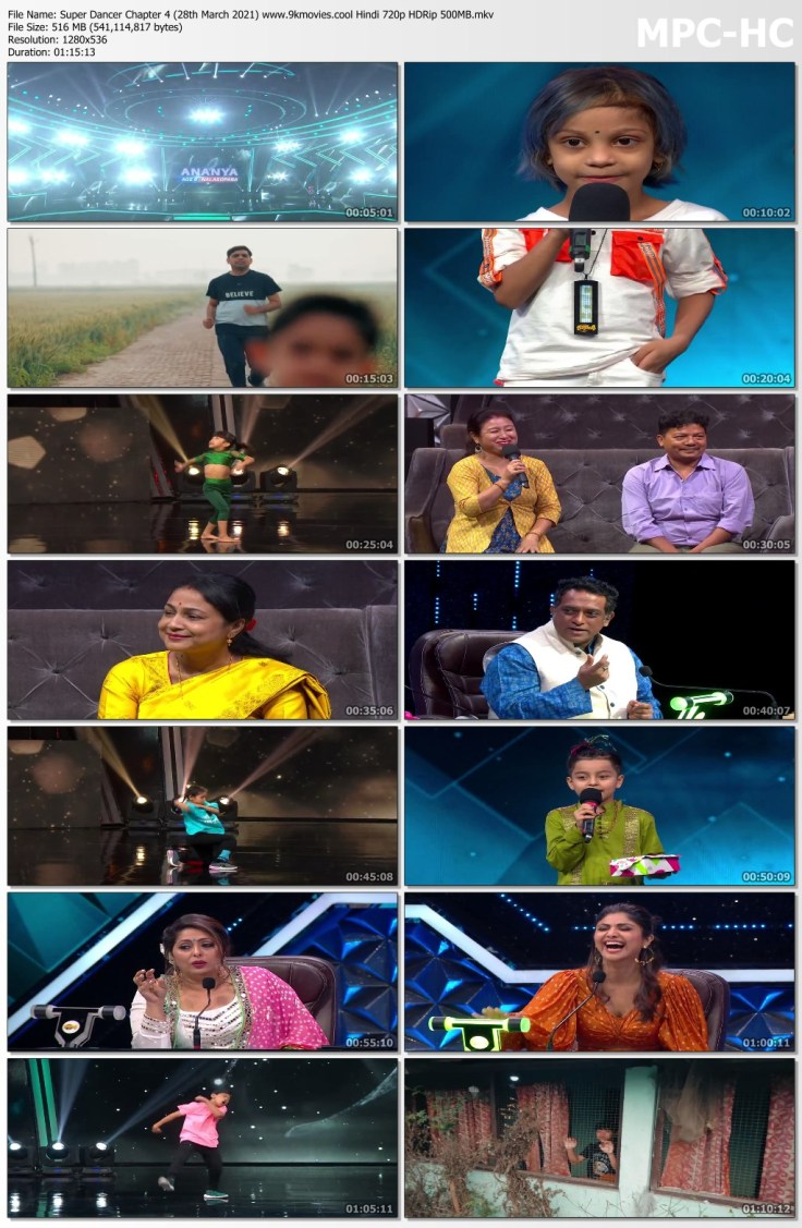 Download Super Dancer Chapter 4 (28th March 2021) Hindi 720p HDRip 500MB