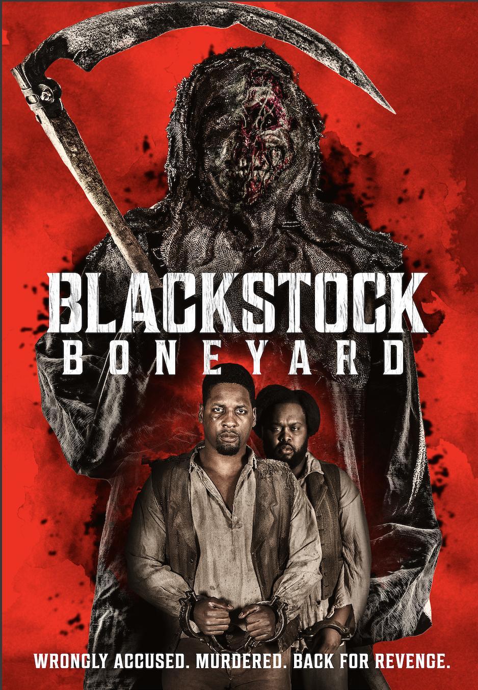 Blackstock Boneyard 2021 English 720p HDRip 800MB Download