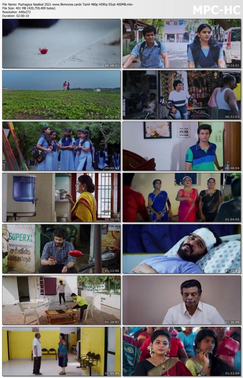 Download Pazhagiya Naatkal 2021 Tamil 480p HDRip ESub 400MB